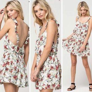 Free People Dear You Floral Mini Dress Sz M